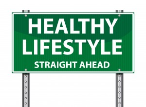 Healthy Lifestyle Straight Ahead
